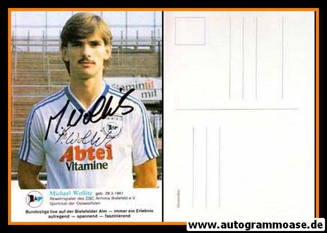 Autogramm Fussball | DSC Arminia Bielefeld | 1985 | Michael WOLLITZ