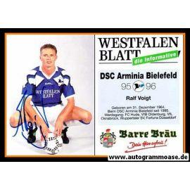 Autogramm Fussball   DSC Arminia Bielefeld   1995   Ralf VOIGT