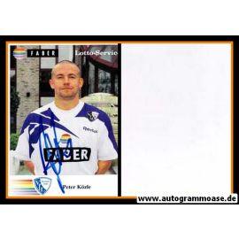 Autogramm Fussball | VfL Bochum | 1995 | Peter KÖZLE