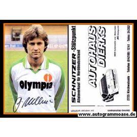 Autogramm Fussball   SV Werder Bremen   1982   Benno MÖHLMANN (ohne Name)