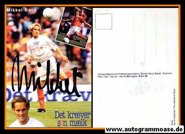 Autogramm Fussball | Dänemark | 1996 EM | Mikkel BECK