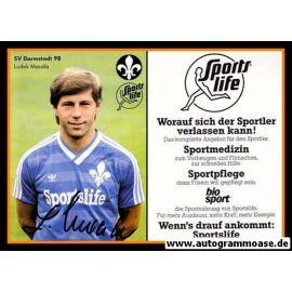 Autogramm Fussball   SV Darmstadt 98   1984   Ludek MACELA
