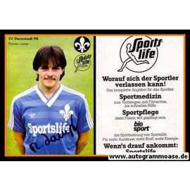 Autogramm Fussball | SV Darmstadt 98 | 1984 | Rainer LAMP