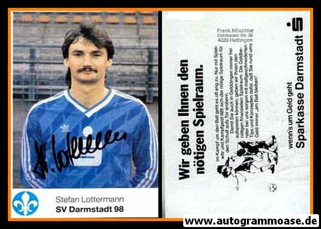 Autogramm Fussball | SV Darmstadt 98 | 1986 | Stefan LOTTERMANN