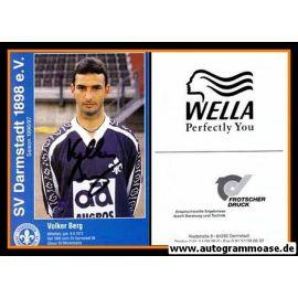 Autogramm Fussball | SV Darmstadt 98 | 1996 | Volker BERG