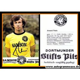 Autogramm Fussball   Borussia Dortmund   1977   Amand THEIS