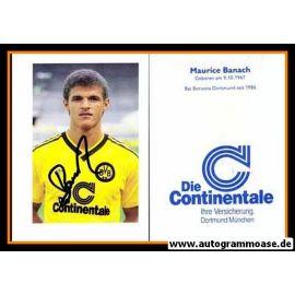 Autogramm Fussball   Borussia Dortmund   1986   Maurice BANACH