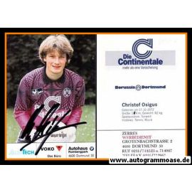 Autogramm Fussball | Borussia Dortmund | 1991 Ball | Christof OSIGUS