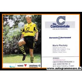 Autogrammkarte Fussball | Borussia Dortmund | 1991 Ball | Mario PLECHATY