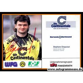 Autogramm Fussball   Borussia Dortmund   1993   Stephane CHAPUISAT