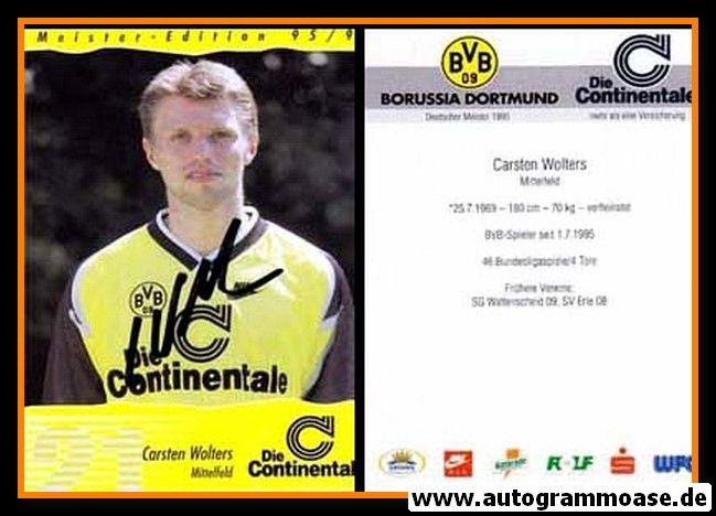 Autogramm Fussball | Borussia Dortmund | 1995 Continentale | Carsten WOLTERS