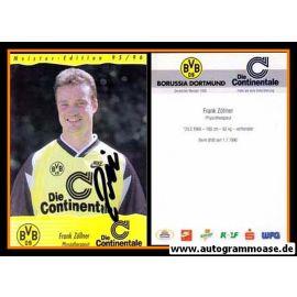 Autogramm Fussball | Borussia Dortmund | 1995 Continentale | Frank ZÖLLNER
