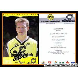Autogramm Fussball   Borussia Dortmund   1995 Continentale   Knut REINHARDT