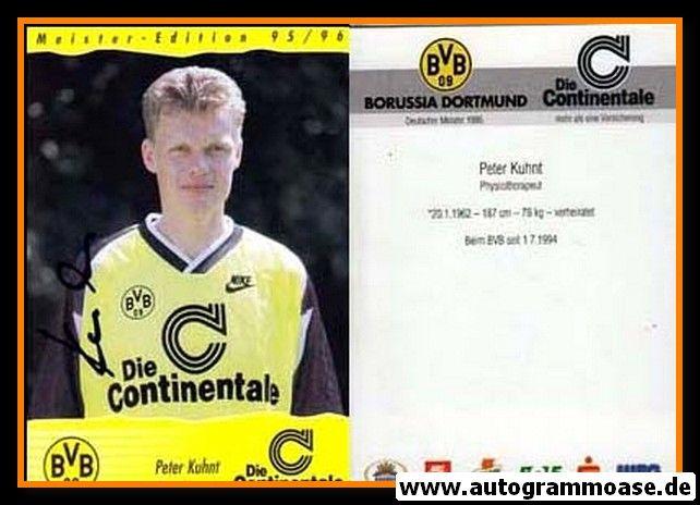 Autogramm Fussball | Borussia Dortmund | 1995 Continentale | Peter KUHNT