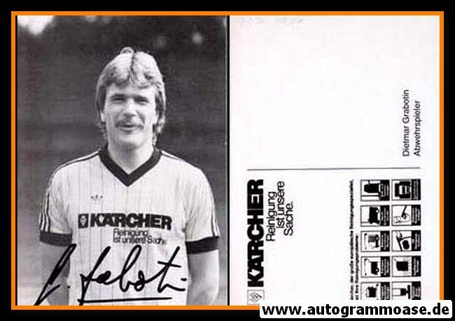 Autogramm Fussball | MSV Duisburg | 1980 | Dietmar GRABOTIN