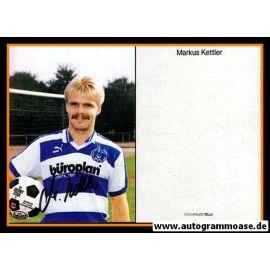 Autogramm Fussball | MSV Duisburg | 1985 | Markus KETTLER