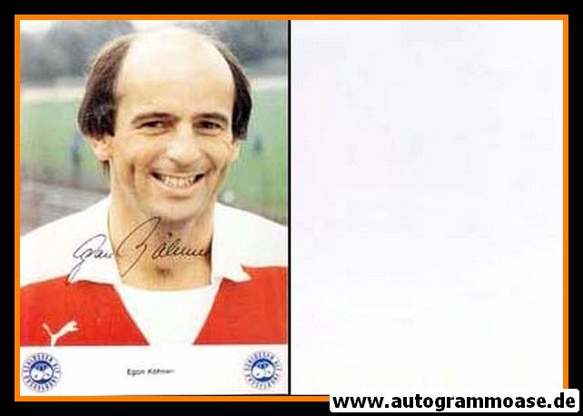 Autogramm Fussball | Fortuna Düsseldorf | 1980 | Egon KÖHNEN