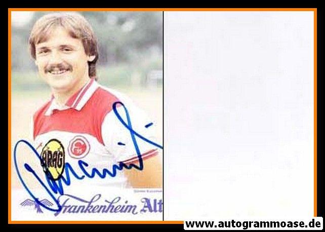 Autogramm Fussball   Fortuna Düsseldorf   1984   Günter KUCZINSKI