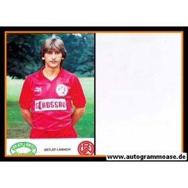 Autogramm Fussball   Rot-Weiss Essen   1986   Detlef LAIBACH