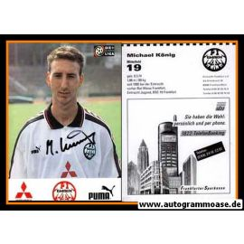 Autogramm Fussball | Eintracht Frankfurt | 1996 | Michael KÖNIG