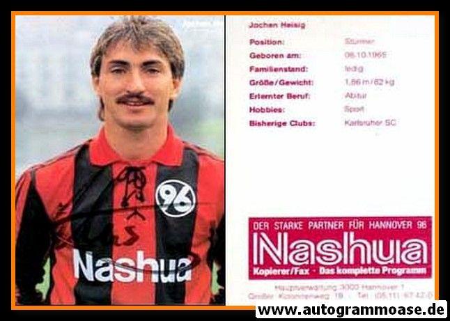 Autogramm Fussball | Hannover 96 | 1990 | Jochen HEISIG