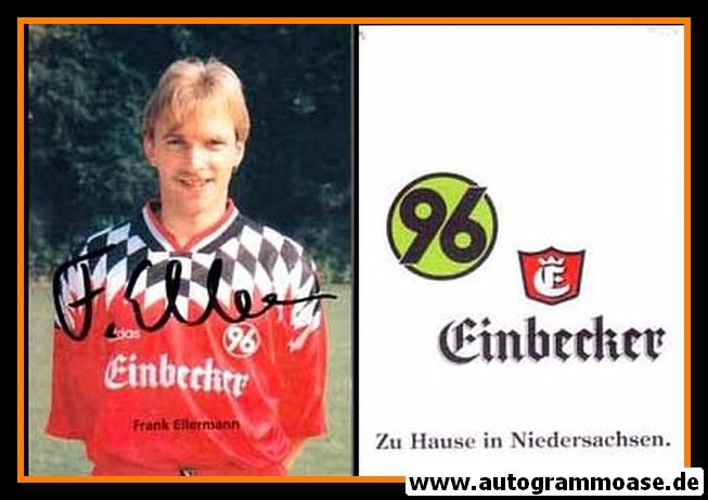 Autogramm Fussball   Hannover 96   1995   Frank ELLERMANN