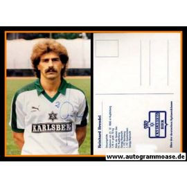 Autogramm Fussball | FC Homburg | 1986 | Reinhard BRENDEL