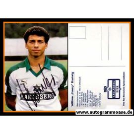 Autogramm Fussball | FC Homburg | 1986 | Jimmy HARTWIG