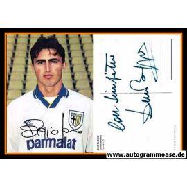 Autogramm Fussball   AC Parma   1990er   Dino BAGGIO
