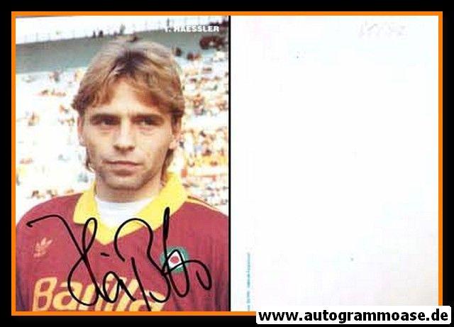 Autogramm Fussball   AS Rom   1991   Thomas HÄSSLER