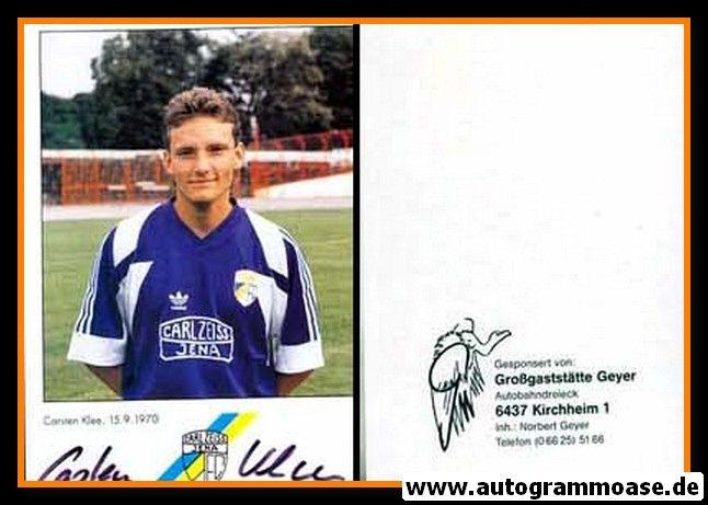 Autogramm Fussball | FC Carl Zeiss Jena | 1991 | Carsten KLEE