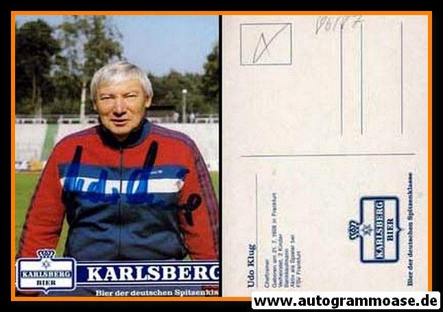 Autogramm Fussball | 1. FC Kaiserslautern | 1986 | Udo KLUG