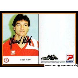 Autogramm Fussball | Fortuna Köln | 1991 | Bernd KLOTZ