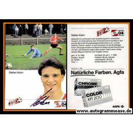 Autogramm Fussball | Bayer Leverkusen | 1984 | Stefan KOHN