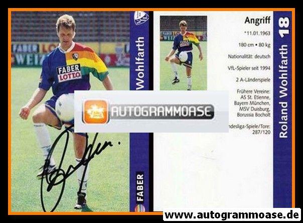 Autogramm Fussball | VfL Bochum | 1997 | Roland WOHLFARTH