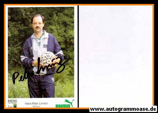 Autogramm Fussball | Borussia Mönchengladbach | 1986 | Hans-Peter LINNERZ