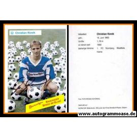 Autogramm Fussball   SV Meppen   1990   Christian KOREK