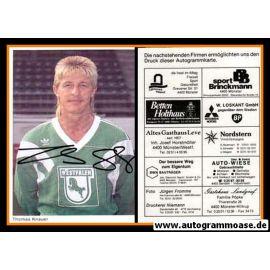 Autogramm Fussball | Preussen Münster | 1990 | Thomas KNAUER