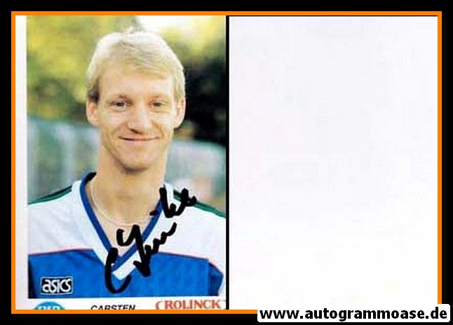 Autogramm Fussball | VfB Oldenburg | 1990 | Carsten LINKE