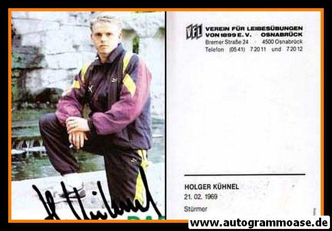 Autogramm Fussball | VfL Osnabrück | 1990 | Holger KÜHNEL