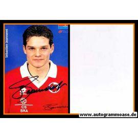 Autogramm Fussball   Schweiz   1996 Lotto   Sebastien JEANNERET