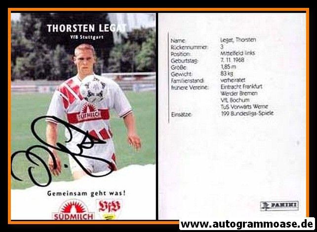 Autogramm Fussball | VfB Stuttgart | 1995 | Thorsten LEGAT