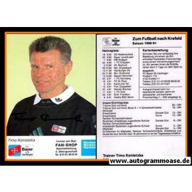 Autogramm Fussball   KFC Uerdingen 05   1990   Timo KONIETZKA