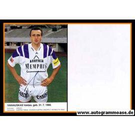 Autogramm Fussball | FK Austria Memphis Wien | 1992 | Valdas IVANAUSKAS