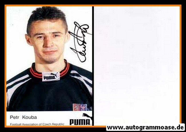 Autogramm Fussball   Tschechien   2000er   Petr KOUBA (Puma)
