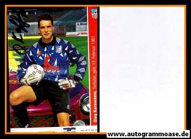 Autogramm Fussball   FSV Zwickau   1996   Oleg KARAWAEW