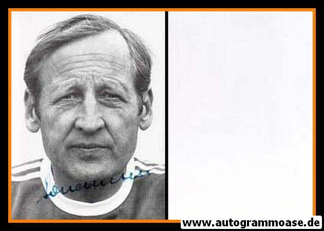 Autogramm Fussball | 1990er | Helmuth JOHANNSEN (Portrait SW)