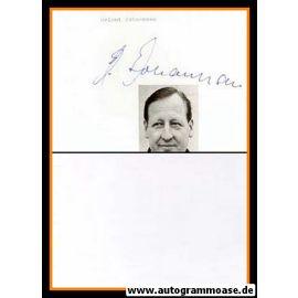 Autograph Fussball | Helmuth JOHANNSEN