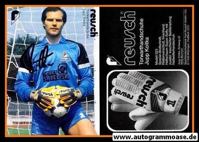 Autogramm Fussball | 1980er Reusch | Jupp KOITKA (VfL Bochum)
