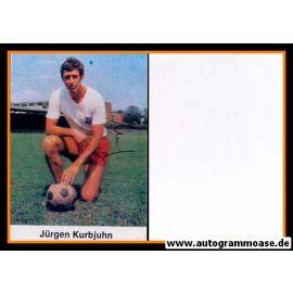 Autogramm Fussball | Hamburger SV | 1970er Foto | Jürgen KURBJUHN (Portrait Color)